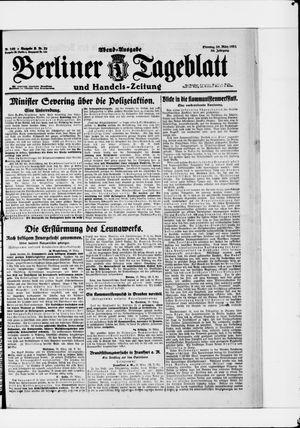 Berliner Tageblatt und Handels-Zeitung vom 29.03.1921
