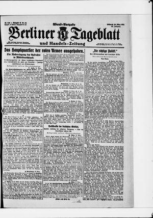 Berliner Tageblatt und Handels-Zeitung vom 30.03.1921