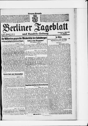 Berliner Tageblatt und Handels-Zeitung vom 02.04.1921