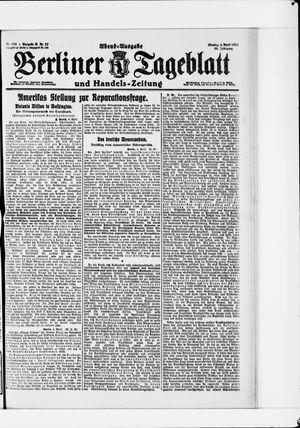 Berliner Tageblatt und Handels-Zeitung vom 04.04.1921