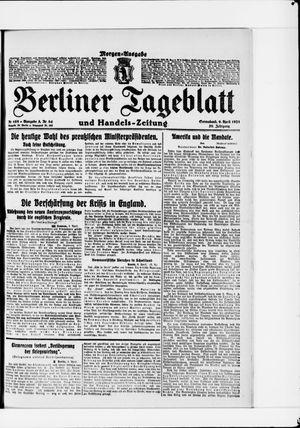 Berliner Tageblatt und Handels-Zeitung vom 09.04.1921