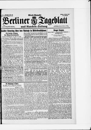Berliner Tageblatt und Handels-Zeitung vom 15.04.1921