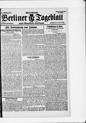 Berliner Tageblatt und Handels-Zeitung vom 20.04.1921