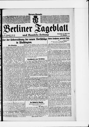 Berliner Tageblatt und Handels-Zeitung vom 23.04.1921