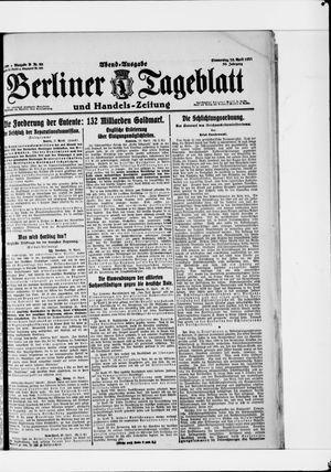 Berliner Tageblatt und Handels-Zeitung vom 28.04.1921