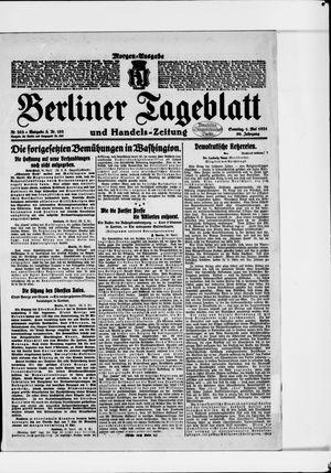 Berliner Tageblatt und Handels-Zeitung vom 01.05.1921