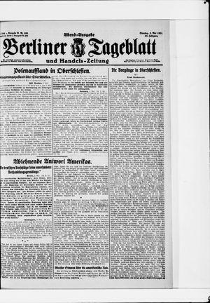 Berliner Tageblatt und Handels-Zeitung vom 03.05.1921