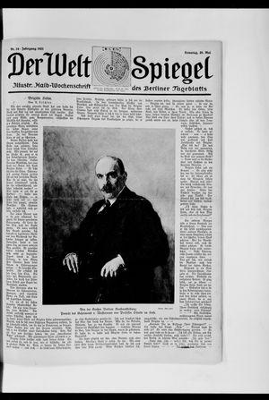 Berliner Tageblatt und Handels-Zeitung vom 29.05.1921