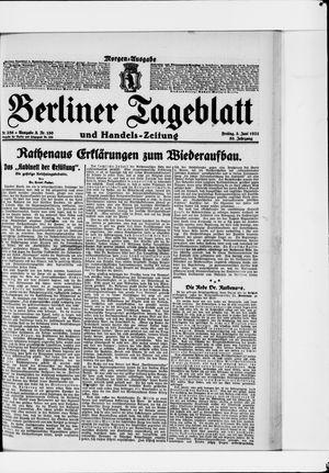 Berliner Tageblatt und Handels-Zeitung vom 03.06.1921