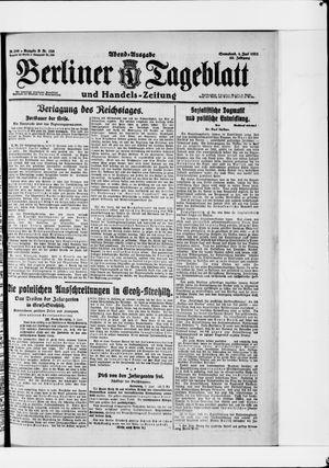 Berliner Tageblatt und Handels-Zeitung vom 04.06.1921