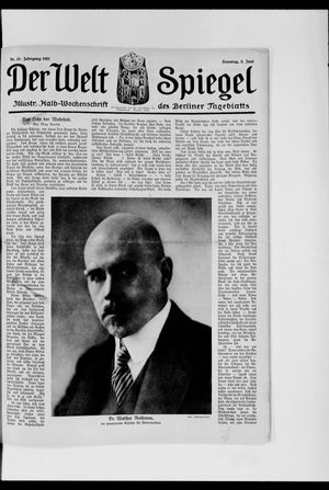 Berliner Tageblatt und Handels-Zeitung vom 05.06.1921