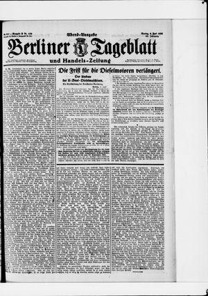 Berliner Tageblatt und Handels-Zeitung vom 06.06.1921