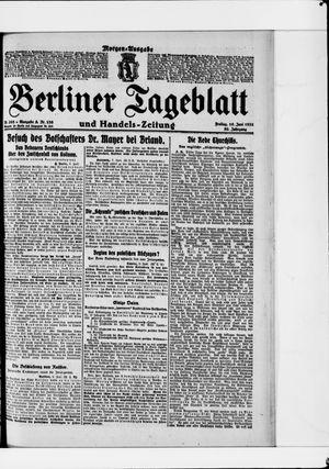 Berliner Tageblatt und Handels-Zeitung vom 10.06.1921