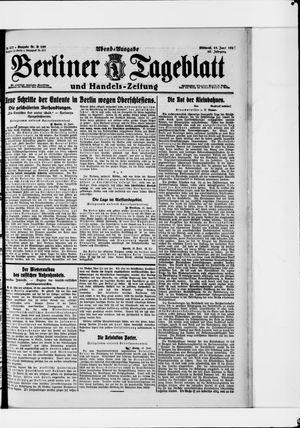 Berliner Tageblatt und Handels-Zeitung vom 15.06.1921