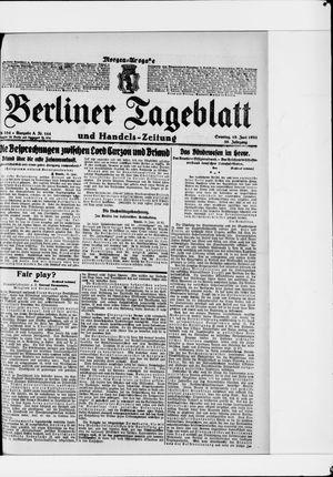 Berliner Tageblatt und Handels-Zeitung vom 19.06.1921