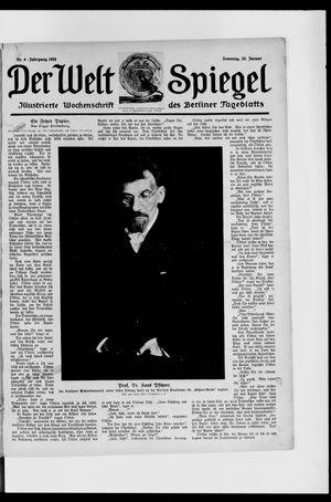 Berliner Tageblatt und Handels-Zeitung vom 22.01.1922