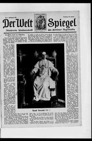 Berliner Tageblatt und Handels-Zeitung vom 29.01.1922