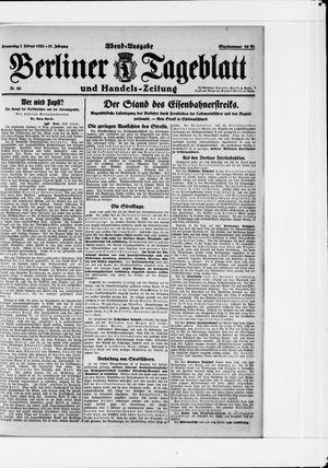 Berliner Tageblatt und Handels-Zeitung vom 02.02.1922