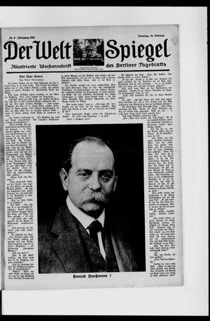 Berliner Tageblatt und Handels-Zeitung vom 19.02.1922