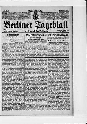 Berliner Tageblatt und Handels-Zeitung vom 24.02.1922