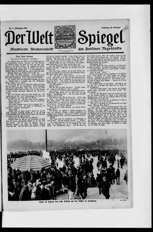 Berliner Tageblatt und Handels-Zeitung vom 26.02.1922