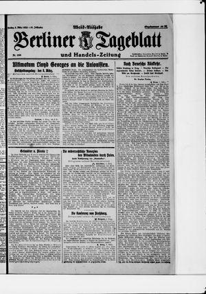 Berliner Tageblatt und Handels-Zeitung vom 03.03.1922