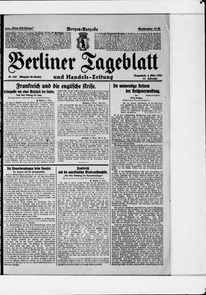 Berliner Tageblatt und Handels-Zeitung vom 04.03.1922