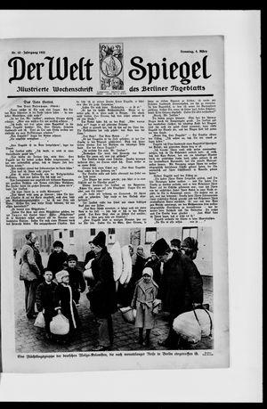 Berliner Tageblatt und Handels-Zeitung vom 05.03.1922