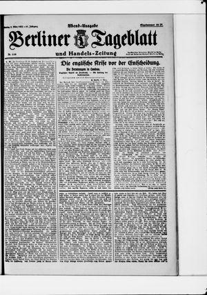 Berliner Tageblatt und Handels-Zeitung vom 06.03.1922