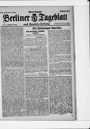Berliner Tageblatt und Handels-Zeitung vom 13.03.1922