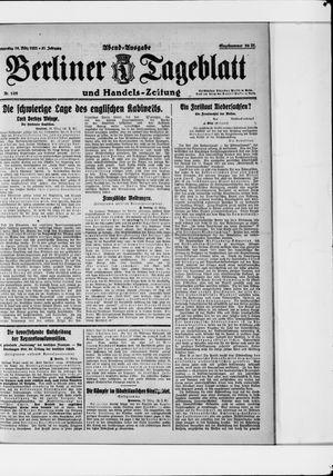Berliner Tageblatt und Handels-Zeitung vom 16.03.1922