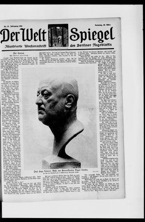 Berliner Tageblatt und Handels-Zeitung vom 26.03.1922