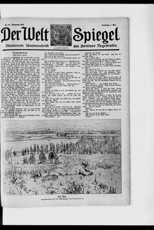 Berliner Tageblatt und Handels-Zeitung vom 07.05.1922