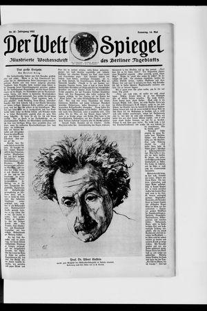 Berliner Tageblatt und Handels-Zeitung vom 14.05.1922