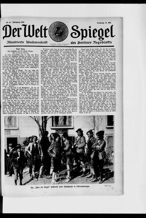 Berliner Tageblatt und Handels-Zeitung vom 21.05.1922