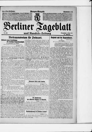 Berliner Tageblatt und Handels-Zeitung vom 03.06.1922