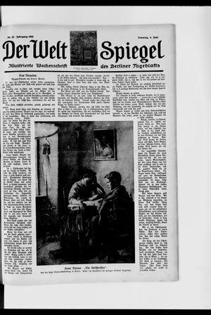 Berliner Tageblatt und Handels-Zeitung vom 04.06.1922