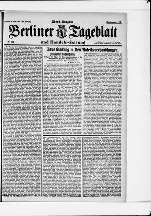 Berliner Tageblatt und Handels-Zeitung vom 06.06.1922