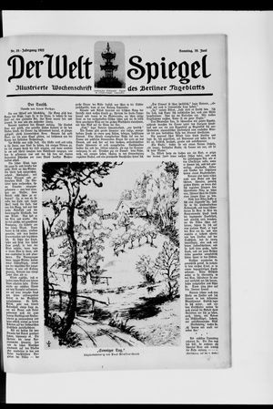 Berliner Tageblatt und Handels-Zeitung vom 18.06.1922