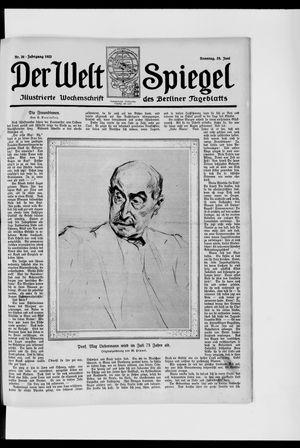 Berliner Tageblatt und Handels-Zeitung vom 25.06.1922