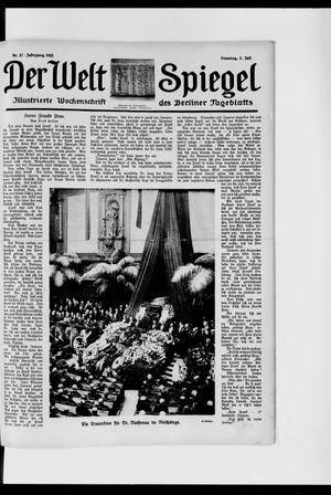 Berliner Tageblatt und Handels-Zeitung vom 02.07.1922