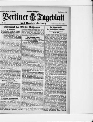Berliner Tageblatt und Handels-Zeitung vom 18.07.1922