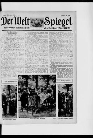 Berliner Tageblatt und Handels-Zeitung vom 30.07.1922