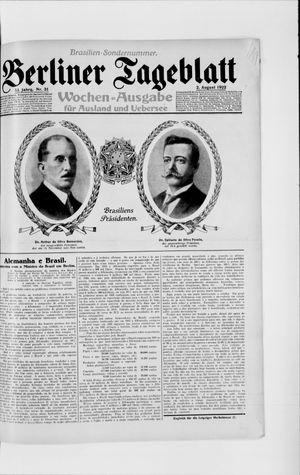 Berliner Tageblatt und Handels-Zeitung vom 02.08.1922
