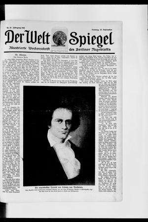 Berliner Tageblatt und Handels-Zeitung vom 10.09.1922