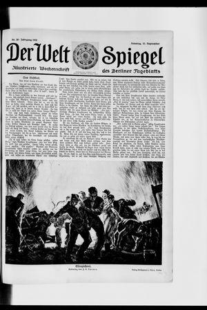 Berliner Tageblatt und Handels-Zeitung vom 17.09.1922