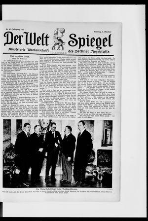 Berliner Tageblatt und Handels-Zeitung vom 01.10.1922