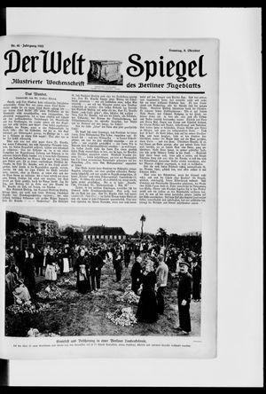 Berliner Tageblatt und Handels-Zeitung vom 08.10.1922