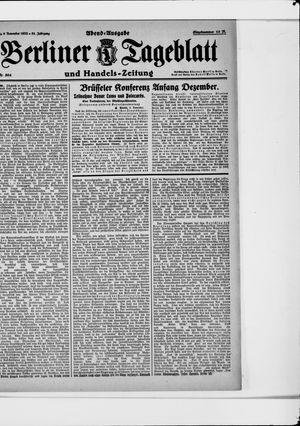 Berliner Tageblatt und Handels-Zeitung vom 06.11.1922