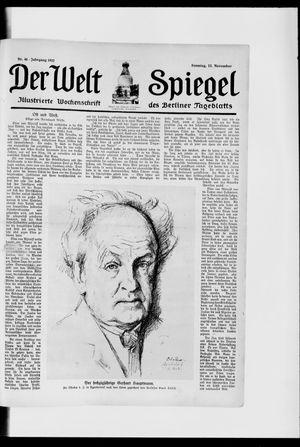 Berliner Tageblatt und Handels-Zeitung vom 12.11.1922